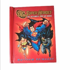 DC Super Heroes Ultimate Pop-up Book Pub. in  2010